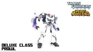 Video Review of the Transformers: Beast Hunters Deluxe Class Prowl