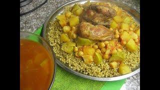 Мафтуль с овощами и курицей  Палестинская кухня