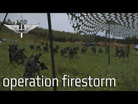 160th SOR - Operation Firestorm - Australian ArmA 3 coop