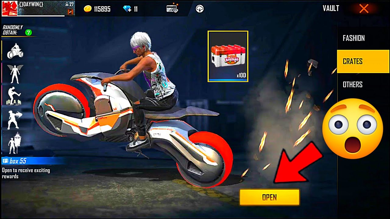 Download OPEN AMAZING BOXES 📦 NEW EMOTE ❤️ EXCHANGE TOKEN 🔥 FREE FIRE