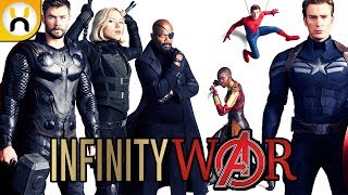 Avengers Infinity War FIRST LOOK at Entire Cast