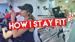 HOW I STAY FIT/HEALTHY | Summer Mckeen