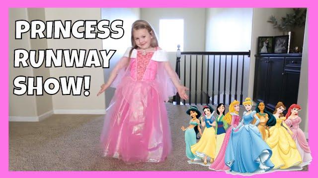 sc 1 st  YouTube & KIDS DISNEY PRINCESS COSTUME RUNWAY SHOW! - YouTube