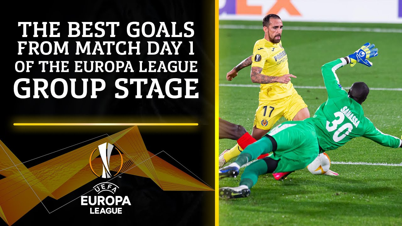 The Best Goals from Match Day 1 of the Group Stage   Europa League   UCL on CBS Sports