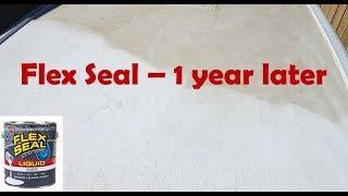 Flex Seal 1 Year Update  RV or Trailer Roof
