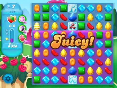 Candy Crush Soda Saga Level 881 - NO BOOSTERS