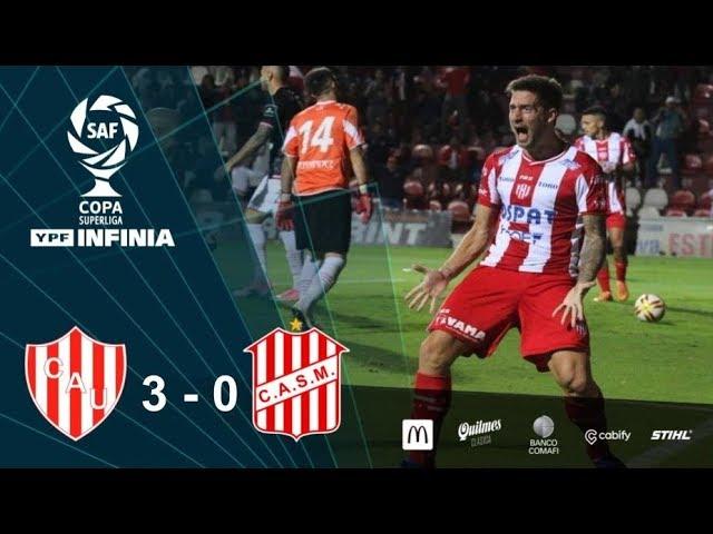 #CopaSuperliga: resumen de Unión - San Martín de Tucumán
