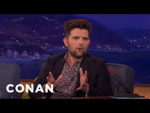 Adam Scott, Chris Pratt, & Nick Offerman Share Poop Photos  - CONAN on TBS