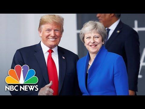 President Donald Trump And British PM Theresa May Hold Joint Press Conference | NBC News