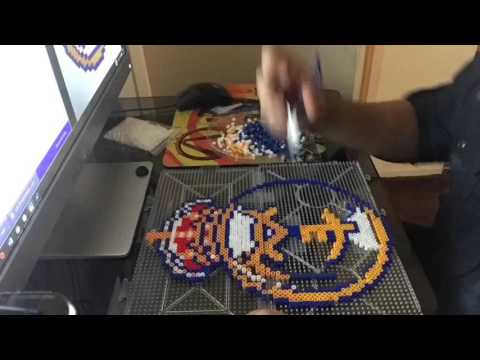 Real Madrid Perler beads Logo