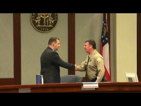 Ron Freeman vs. Duane Piper for Forsyth County GA Sheriff 04/27/16