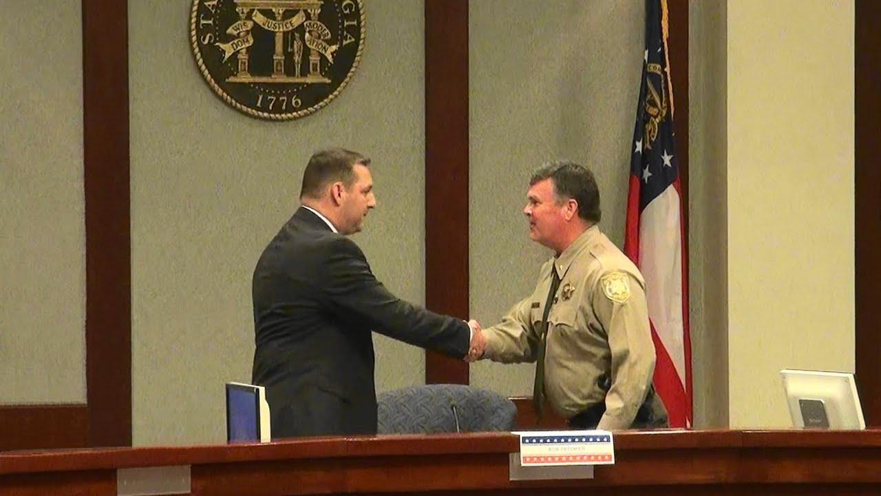 Ron Freeman vs Duane Piper for Forsyth County GA Sheriff