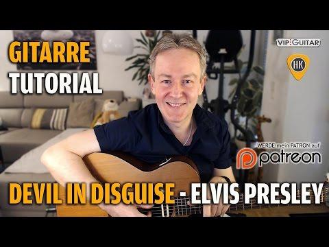 Tutorial - Devil in Disguise - Elvis Presley - Rhythmusgitarre