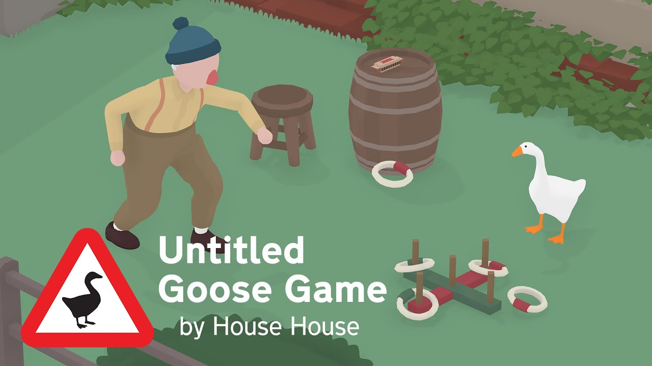 Untitled Goose Game - Launch Day Trailer - Out now!