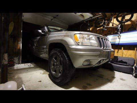 Fixing Your WJ's Heat/AC WITHOUT Taking The Dash Off \\ Blend Doors