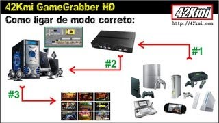 Gravando gameplays em Full HD com 42Kmi Game Grabber HD.