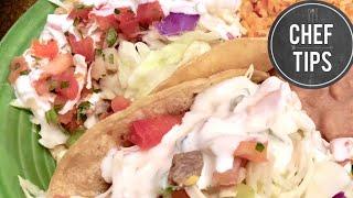 Fish Taco White Sauce
