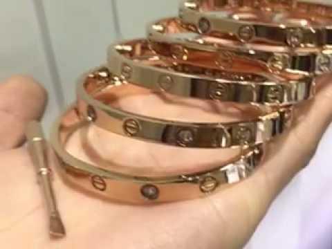 replica cartier love bracelet - YouTube  replica cartier...