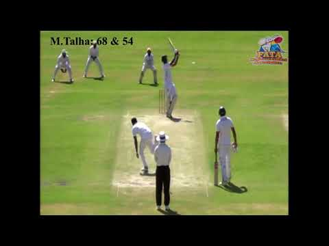 Muhammad Talha Played Match winning innings against HBL