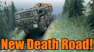 Spin Tires | The New Death Road | New Map 2015!