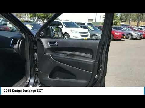 2015 Dodge Durango 2015 Dodge Durango SXT FOR SALE in Corona, CA M3357A