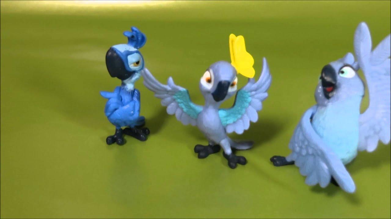 Rio 2 Movie Toys Chara...