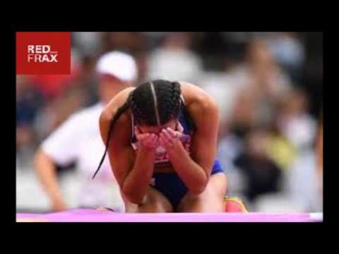 Katarina Johnson Thompson's World Championships dream hanging by a thread after high jump collapse