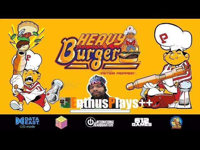 GameEnthus Crew Plays: Heavy Burger (Switch) - EnthusPlays++  #HeavyBurger