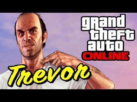 """GTA 5 ONLINE: Meeting Up With TREVOR - Trevor Philips Industries [HD] """"GTA 5 ONLINE TREVOR"""""""