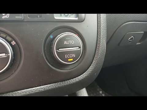 Что за кнопка ECON на VW, Seat, Skoda, Audi (Вкл/Выкл кондиционер). Не включается кондиционер?