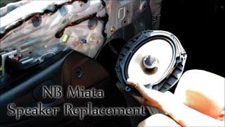 nb miata speaker replacement