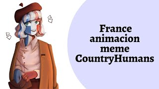 TOP animation meme FRANCE (French empire) CountryHumans