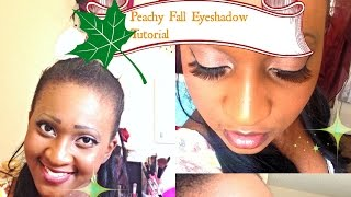Peachy|WonderFall|Eye shadow|Tutorial Thumbnail