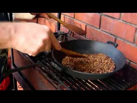 Как жарить кофейные зерна