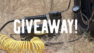 4runner Air compressor Install and Giveaway!
