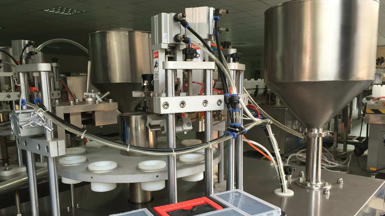 Plastic Tubes Filling Sealing Machine Semi Automatic Soft