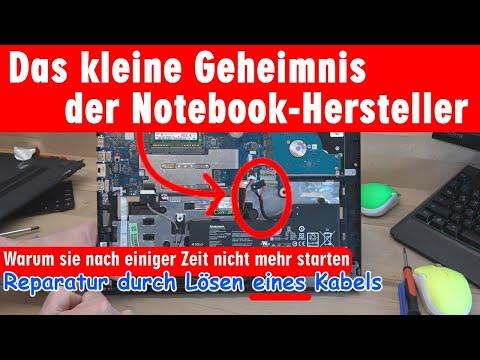 Notebook Geheimnis: Warum sie nach einiger Zeit nicht mehr starten