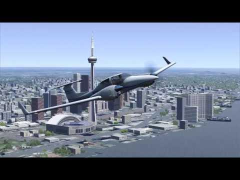 toronto to new york city flight sim world youtube. Black Bedroom Furniture Sets. Home Design Ideas