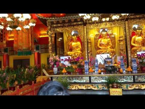 Hong Kong Po Lin monastery Tian Tan (Big Buddha)