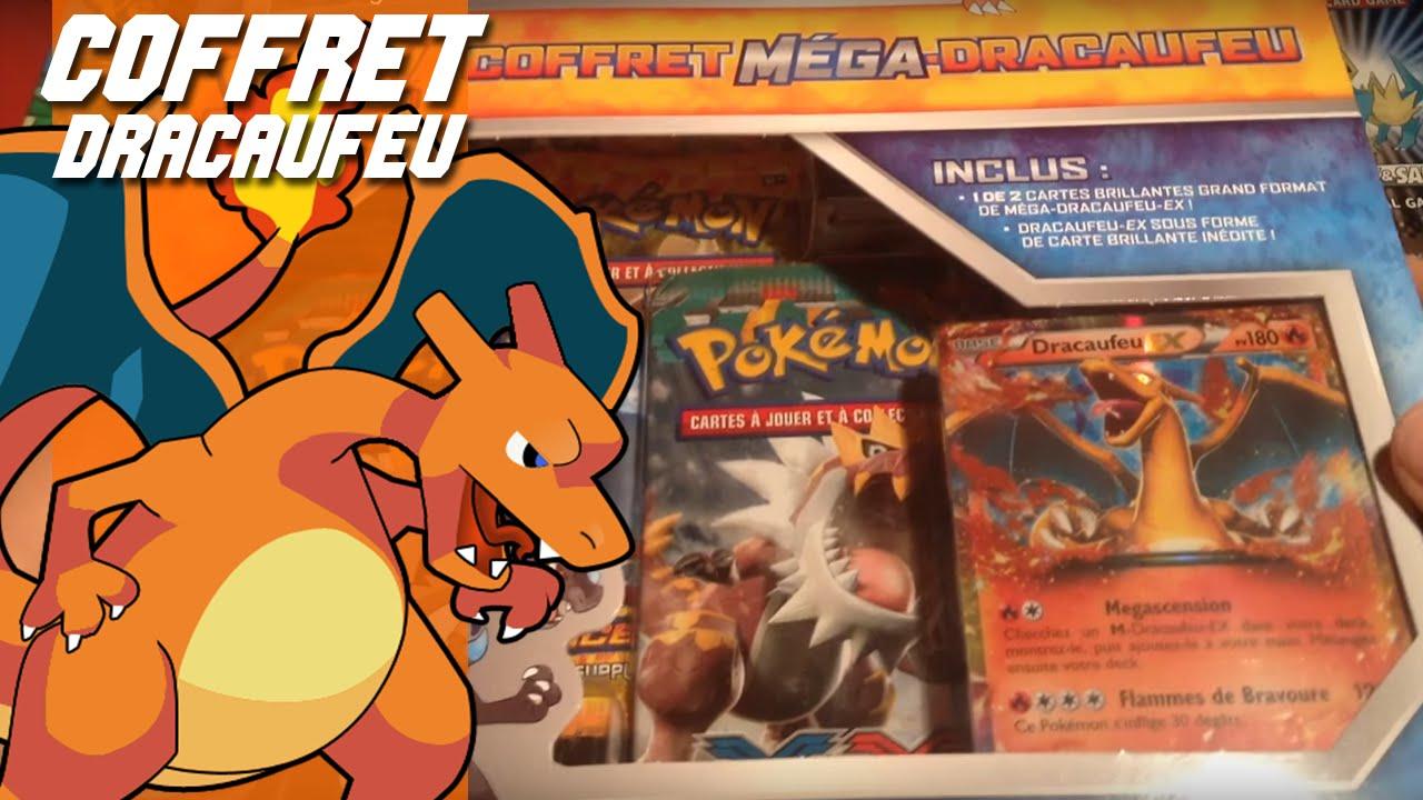 Ouverture Coffret Pokémon Mega Dracaufeu Y