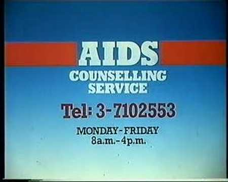 1987 - Medical and Health Department (AIDS Counselling Service)