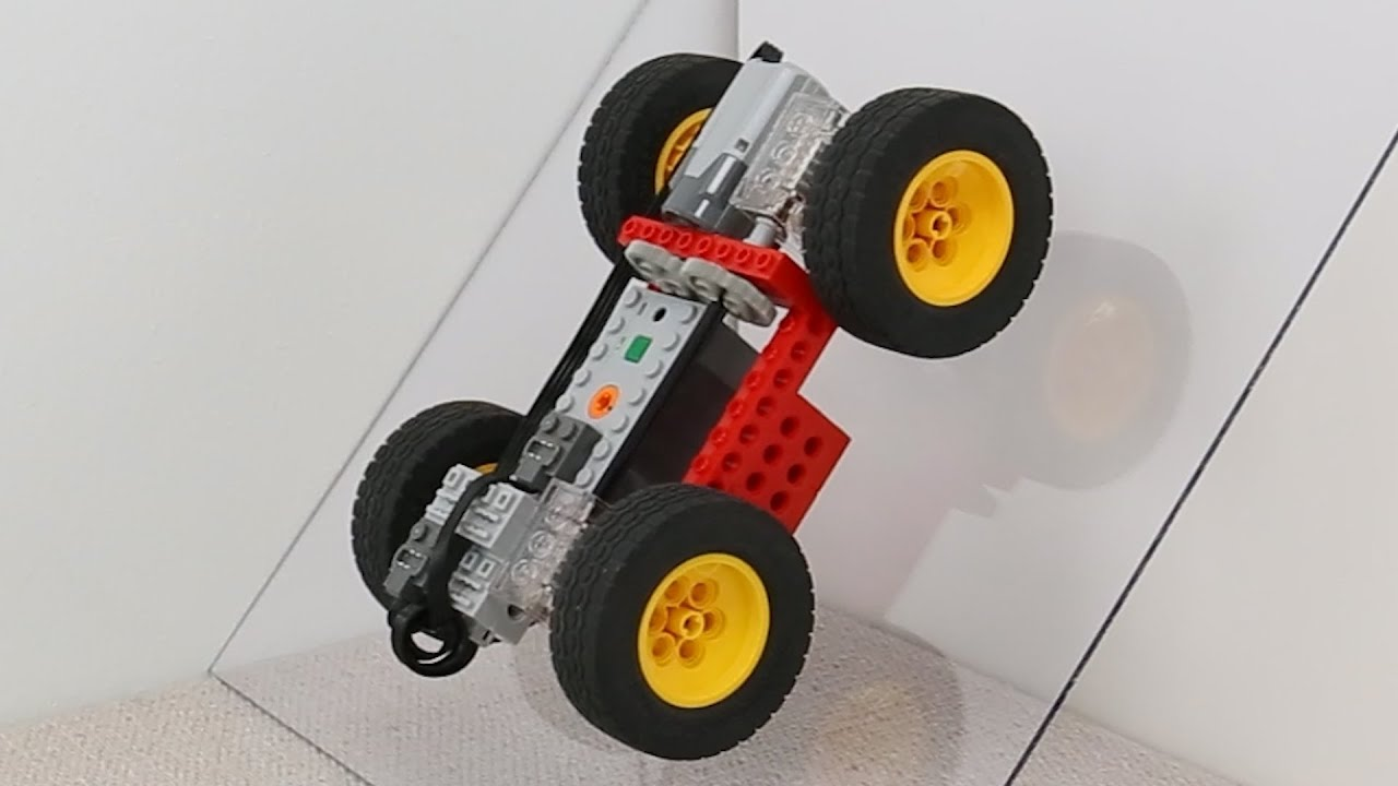 Making Lego Car CLIMB Slopes