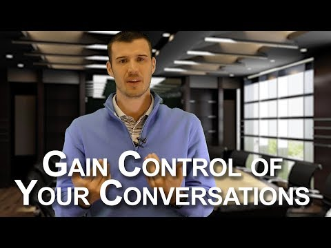 How to Gain Control of a Call or Appointment - Insurance Sales Tips