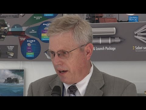 US Navy's Boucher on Boosting Railgun Firing Rates, Bore Life
