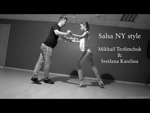Salsa NY style.