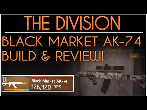 The Division. Black Market AK-74. Best God Roll Gun In The Game. How to get Black Market AK-74.