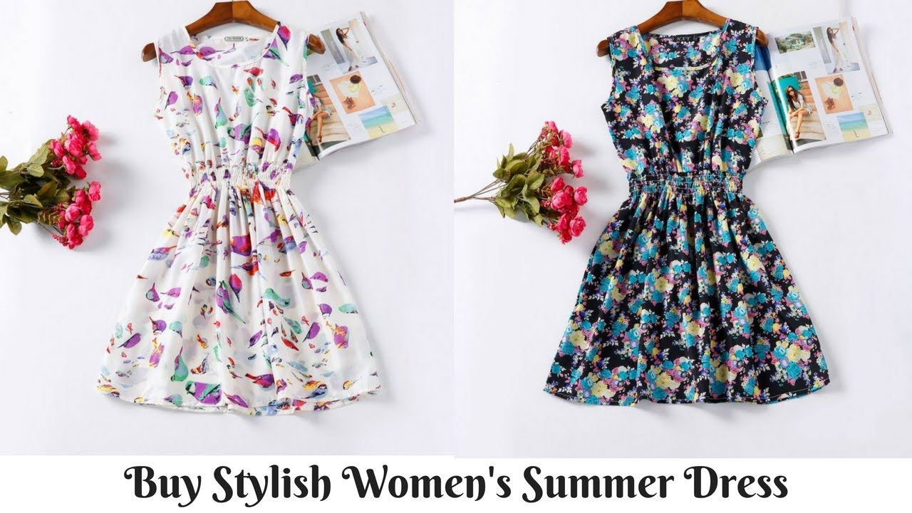 Очаровательные летние платья для полных девушек и женщин - YouTube