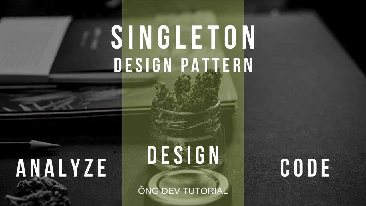 Singleton Design Pattern: Class Diagram, giải thích vấn đề ...