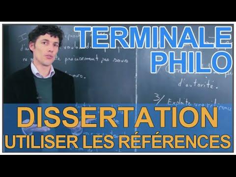 Dissertation conscience terminale