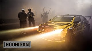 [HOONIGAN] DT 194: Tanner Foust Ultimate Smokeshow Man-Line in VW Drift Passat